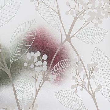 Bilde av Statisk vindusfolie grønne blader 90x150