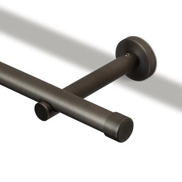 Bilde av Veggholder Moderne 12cm Gunmetal 30mm