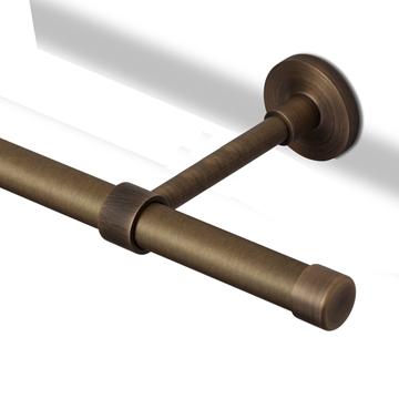 Bilde av Veggholder Lukket 16cm Ant. Bronse 20 mm
